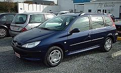 PEUGEOT 206 SW (2E/K) 07/2002 – 12/2007