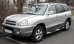 HYUNDAI SANTA FÉ I (SM) 02/2001 – 03/2006