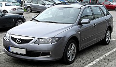MAZDA 6 Station Wagon (GY) 08/2002 – 08/2007
