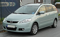 MAZDA 5 (CR19) 03/2005 – 08/2010