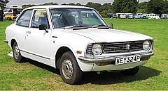 TOYOTA COROLLA Coupe (KE) 07/1975 – 01/1980