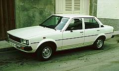TOYOTA COROLLA Liftback (KE, TE) 09/1976 – 01/1980