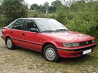 TOYOTA COROLLA Liftback (_E9_) 07/1987 – 06/1993
