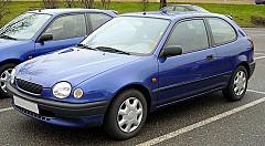 TOYOTA COROLLA Compact (_E11_) 04/1997 – 01/2002
