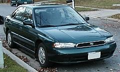 SUBARU LEGACY II (BD) 09/1994 – 03/1999