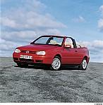 VW GOLF IV Cabriolet (1E7) 06/1998 – 06/2002