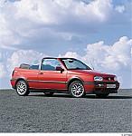VW GOLF III Cabriolet (1E7) 07/1993 – 05/1998
