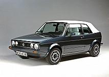 VW GOLF I Cabriolet (155) 01/1979 – 04/1993