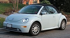 VW NEW BEETLE Cabriolet (1Y7) 09/2002 – 10/2010