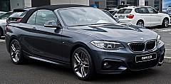 BMW 2 Cabriolet (F23) 03/2014 – 07/2016