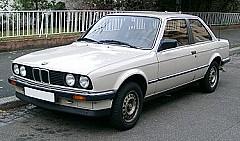 BMW 3 (E30) 09/1982 – 01/1992