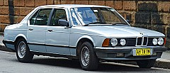 BMW 7 (E23) 05/1977 – 08/1986