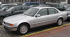 BMW 7 (E38) 10/1994 – 11/2001