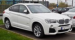 BMW X4 (F26) 04/2014 – 03/2018