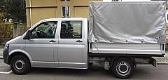 VW TRANSPORTER V Pritsche/Fahrgestell (7JD, 7JE, 7JL, 7JY, 7JZ, 04/2003 – 08/2015