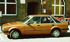 FORD ESCORT III (GAA) 09/1980 – 12/1985