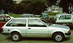 FORD ESCORT III Turnier (AWA) 09/1980 – 12/1985