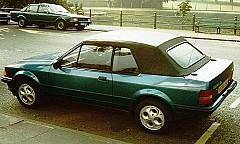 FORD ESCORT IV Cabriolet (ALF) 01/1986 – 07/1990