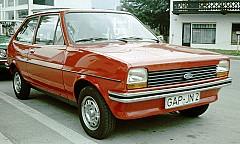 FORD FIESTA I (GFBT) 05/1976 – 08/1983