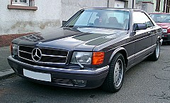MERCEDES-BENZ S-CLASS Coupe (C126) 10/1981 – 06/1991