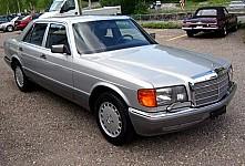 MERCEDES-BENZ S-CLASS (W126) 10/1979 – 06/1991