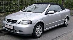 OPEL ASTRA G Cabriolet (F67) 03/2001 – 10/2005