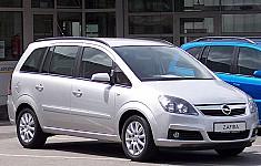 OPEL ZAFIRA B (A05) 07/2005 – 04/2015