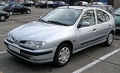 RENAULT MEGANE I (BA0/1_) 01/1996 – 08/2003