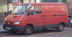 RENAULT TRAFIC Kasten (TXX) 05/1989 – 03/2001