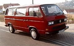VW TRANSPORTER III Bus 05/1979 – 07/1992